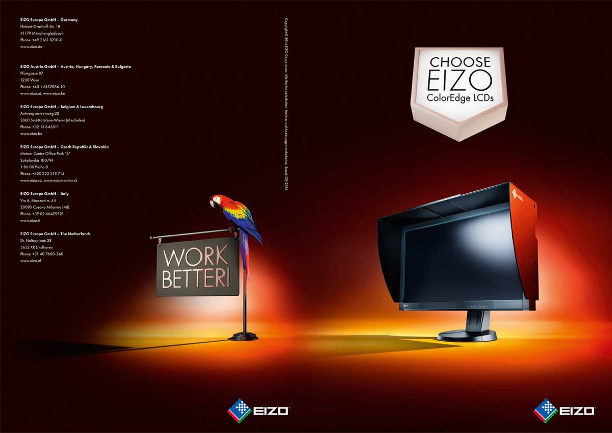 eizo | c: butter • Retouching • pretty on point • post production • düsseldorf