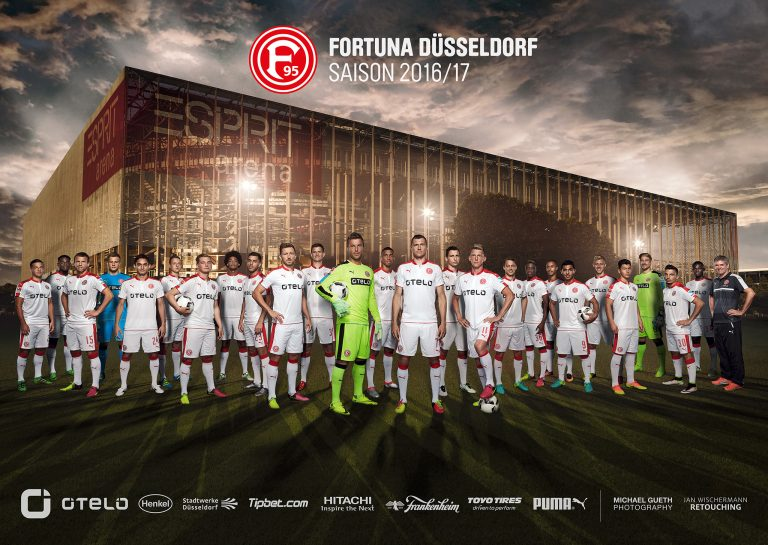 fortuna düsseldorf | ph: Michael gueth • Retouching • pretty on point • post production • düsseldorf