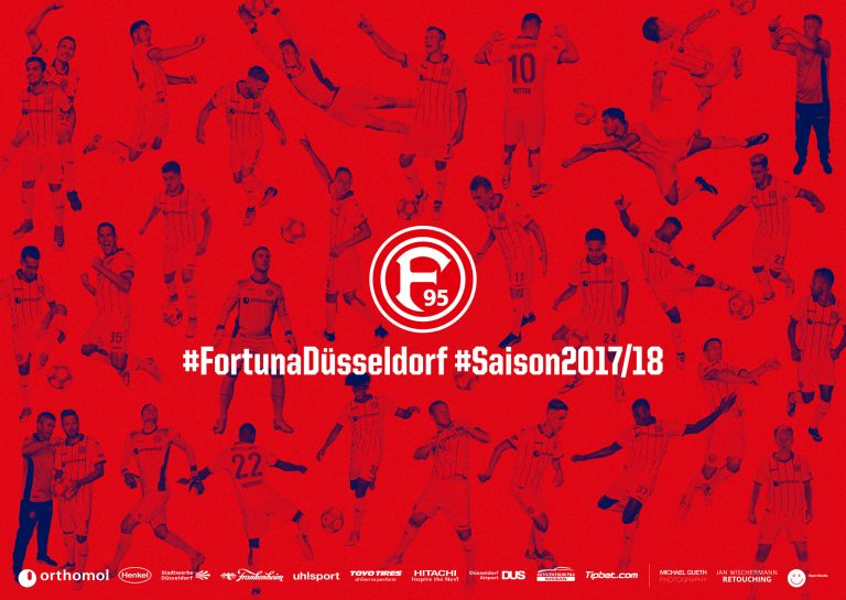fortuna düsseldorf | a: weareopenstudio | ph: Michael gueth • Retouching • pretty on point • post production • düsseldorf