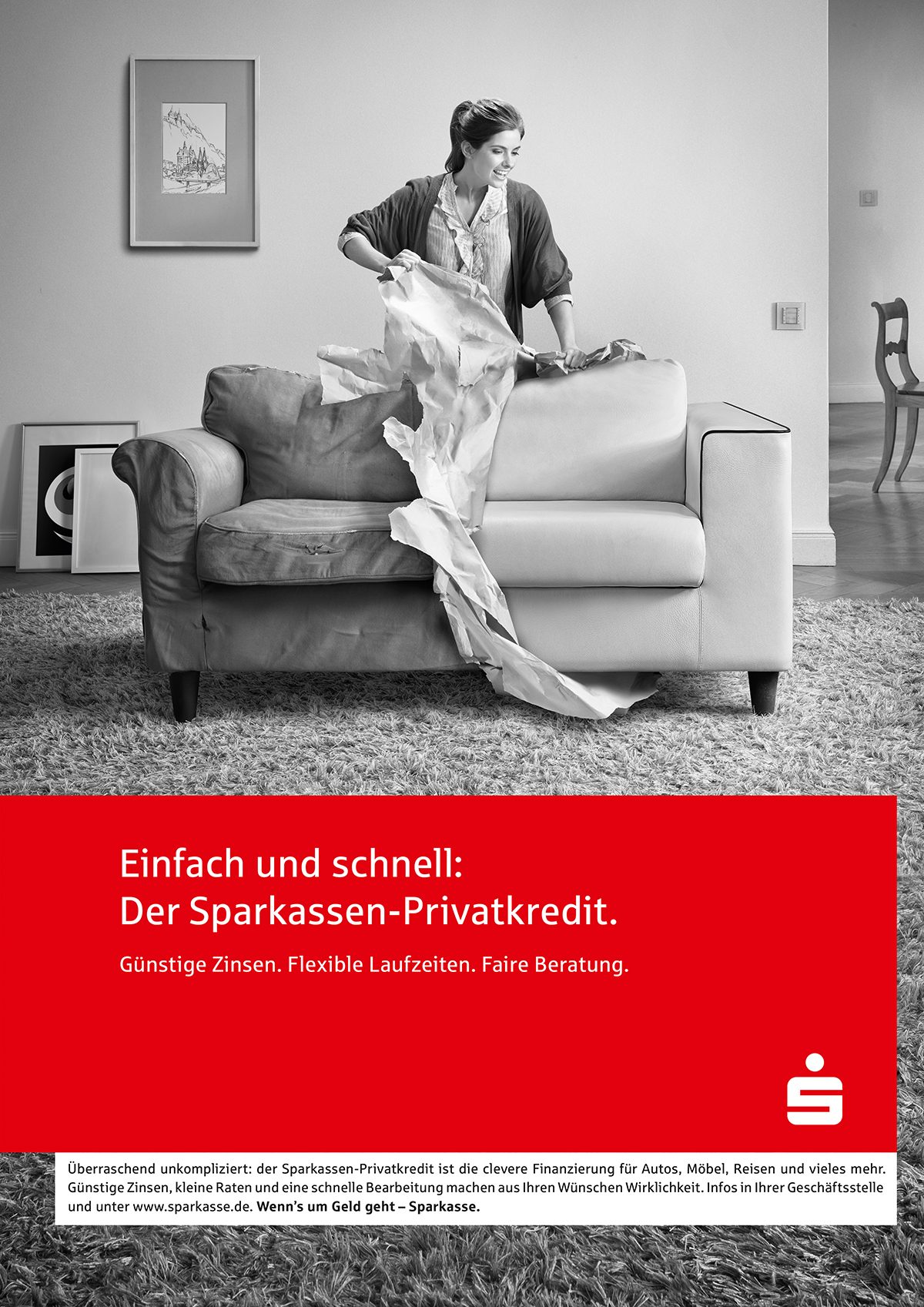 sparkasse | c: JvM • Retouching • pretty on point • post production • düsseldorf