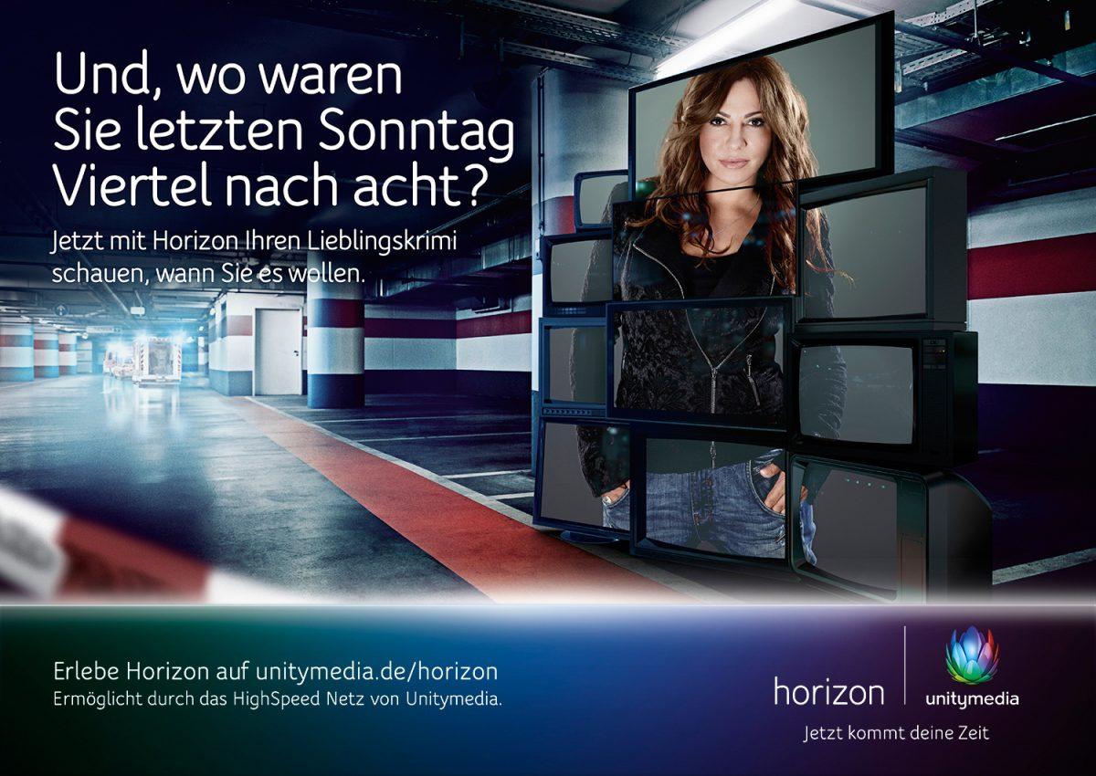 unity media | c: thjnk • Retouching • pretty on point • post production • düsseldorf