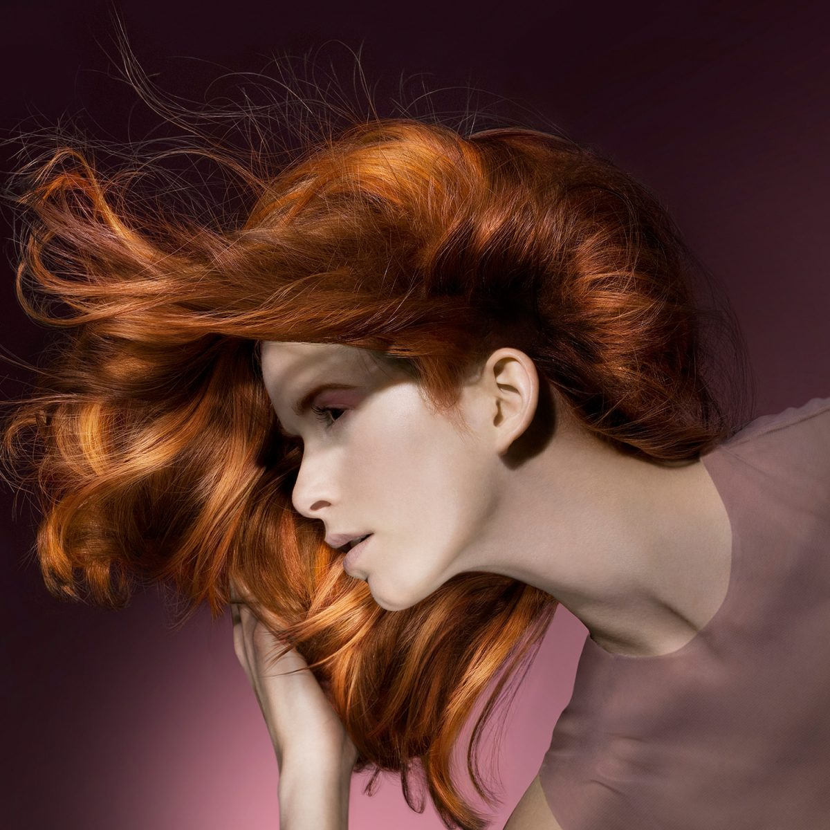 goldwell | c: cayenne | ph: stephan ziehen • Retouching • pretty on point • post production • düsseldorf