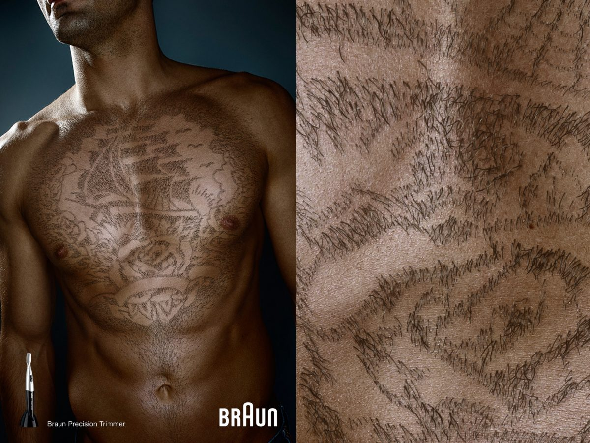 braun | c: bbdo • Retouching • pretty on point • post production • düsseldorf