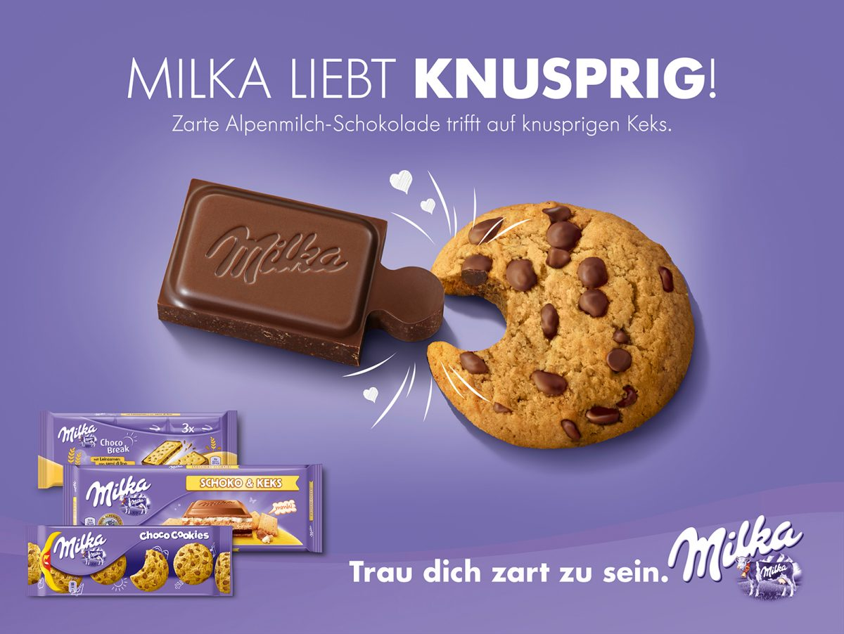 milka | c: isobar | ph: stefan kranefeld • Retouching • pretty on point • post production • düsseldorf